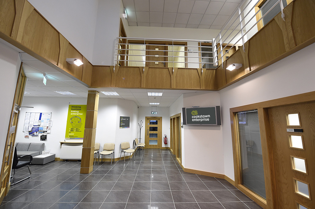 Cookstown Enterprise Internal Reception