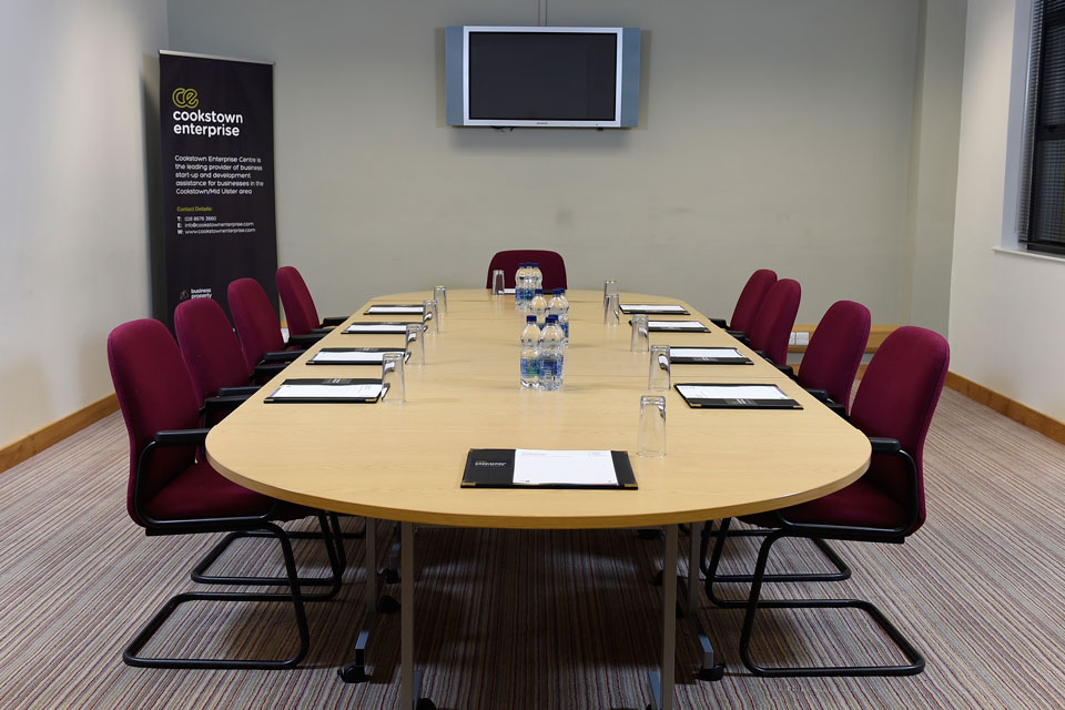 Conference Room at Cookstown Enterprise