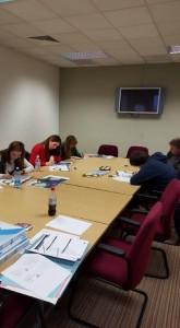 EEP3 participants working hard.