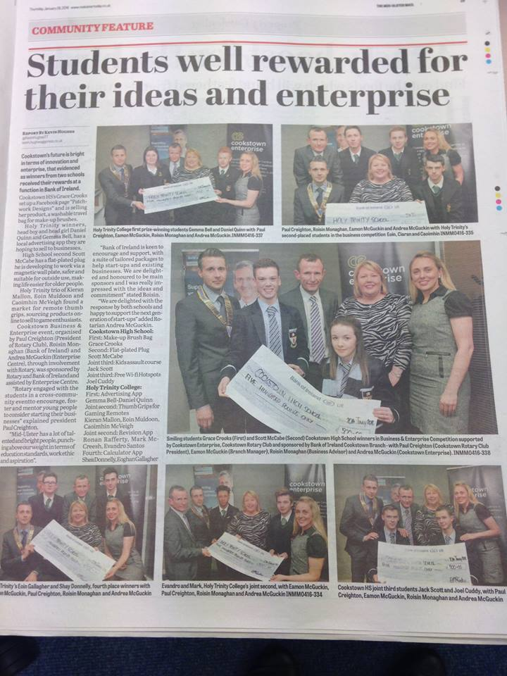Link to Business Enterprise Competition post