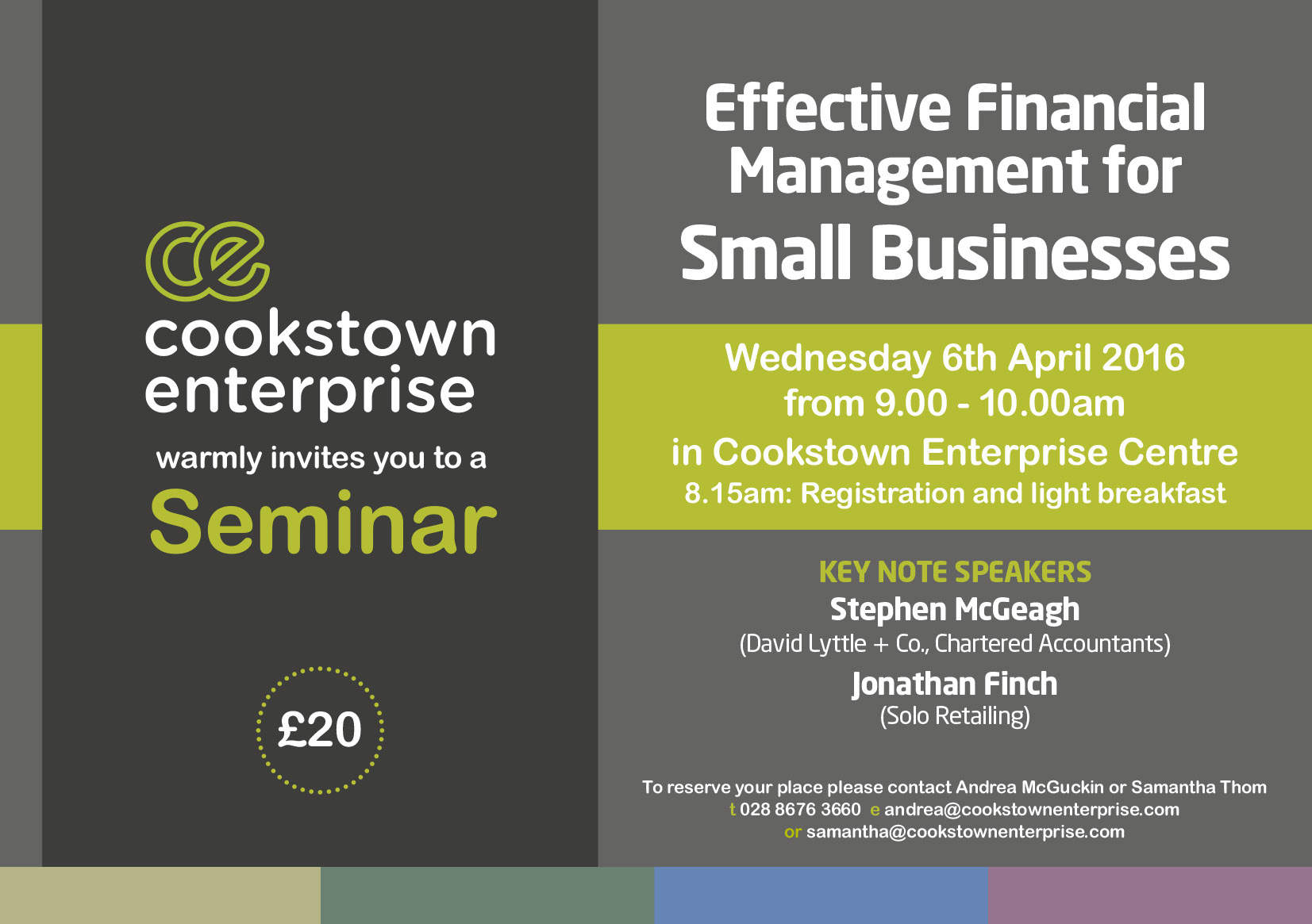 Link to Effective Financial Management Seminar post
