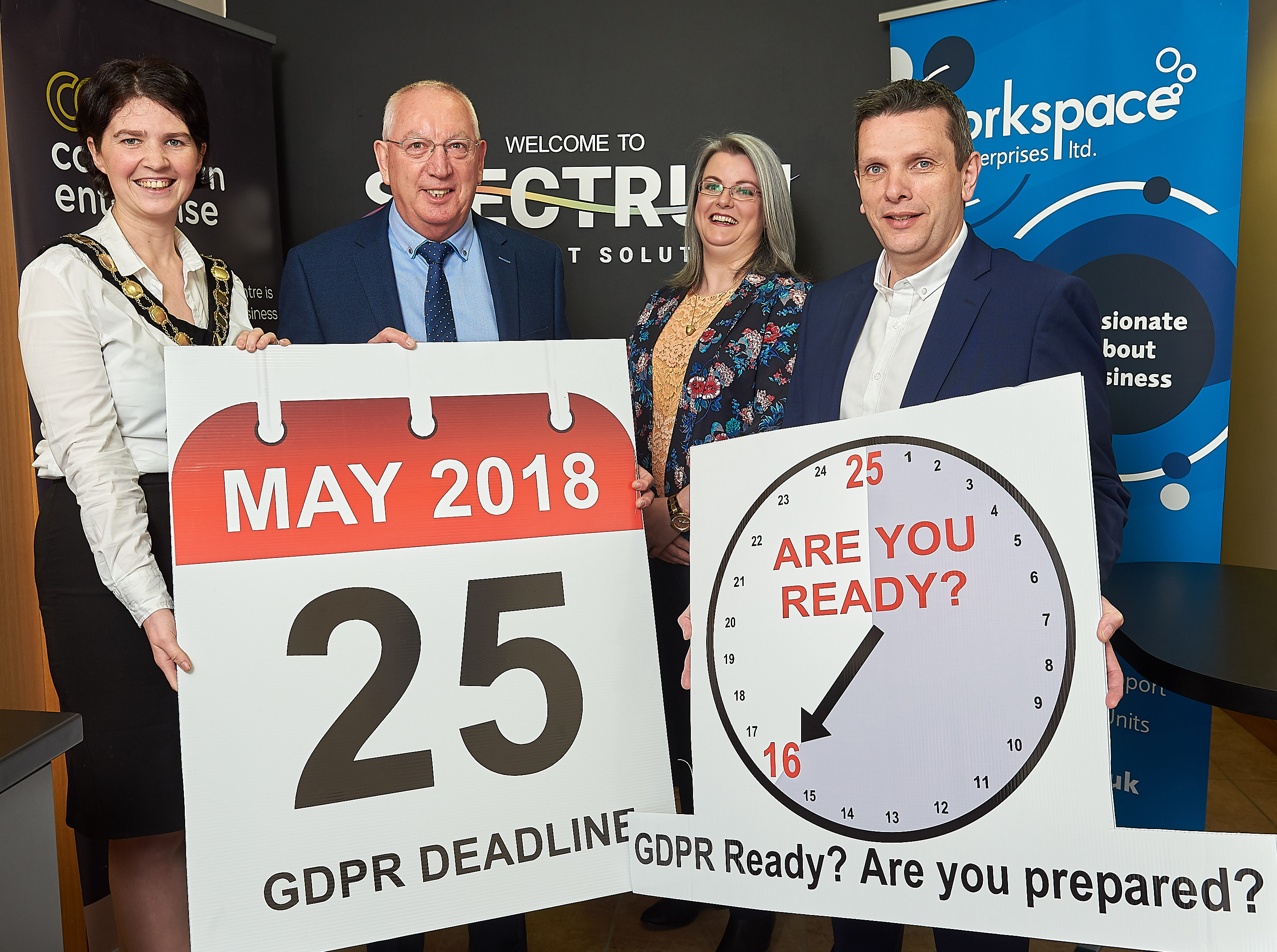 Link to Free Seminar For Small Businesses To Be GDPR-Ready post