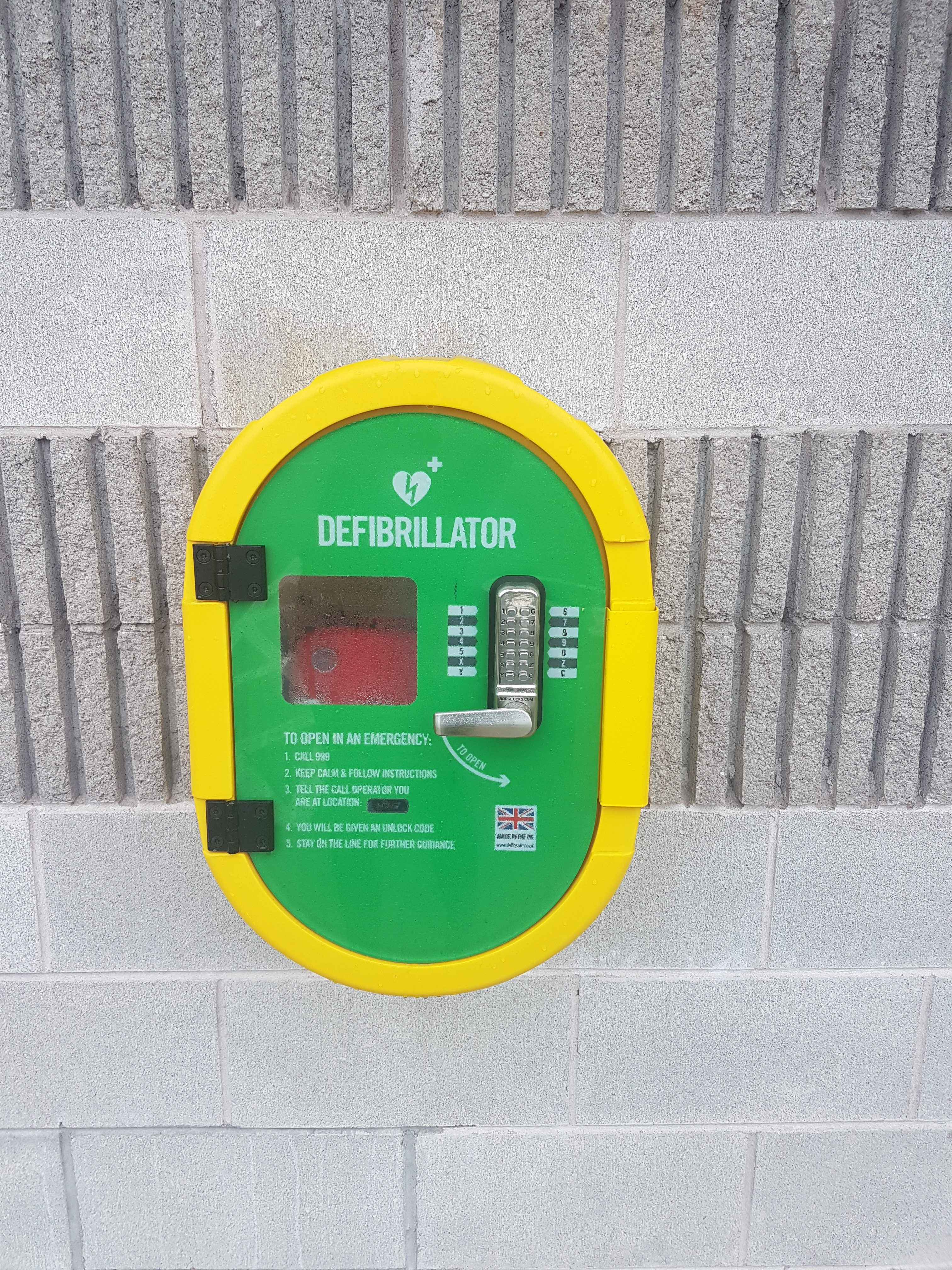 Link to New Defibrillator for Cookstown Enterprise Centre post
