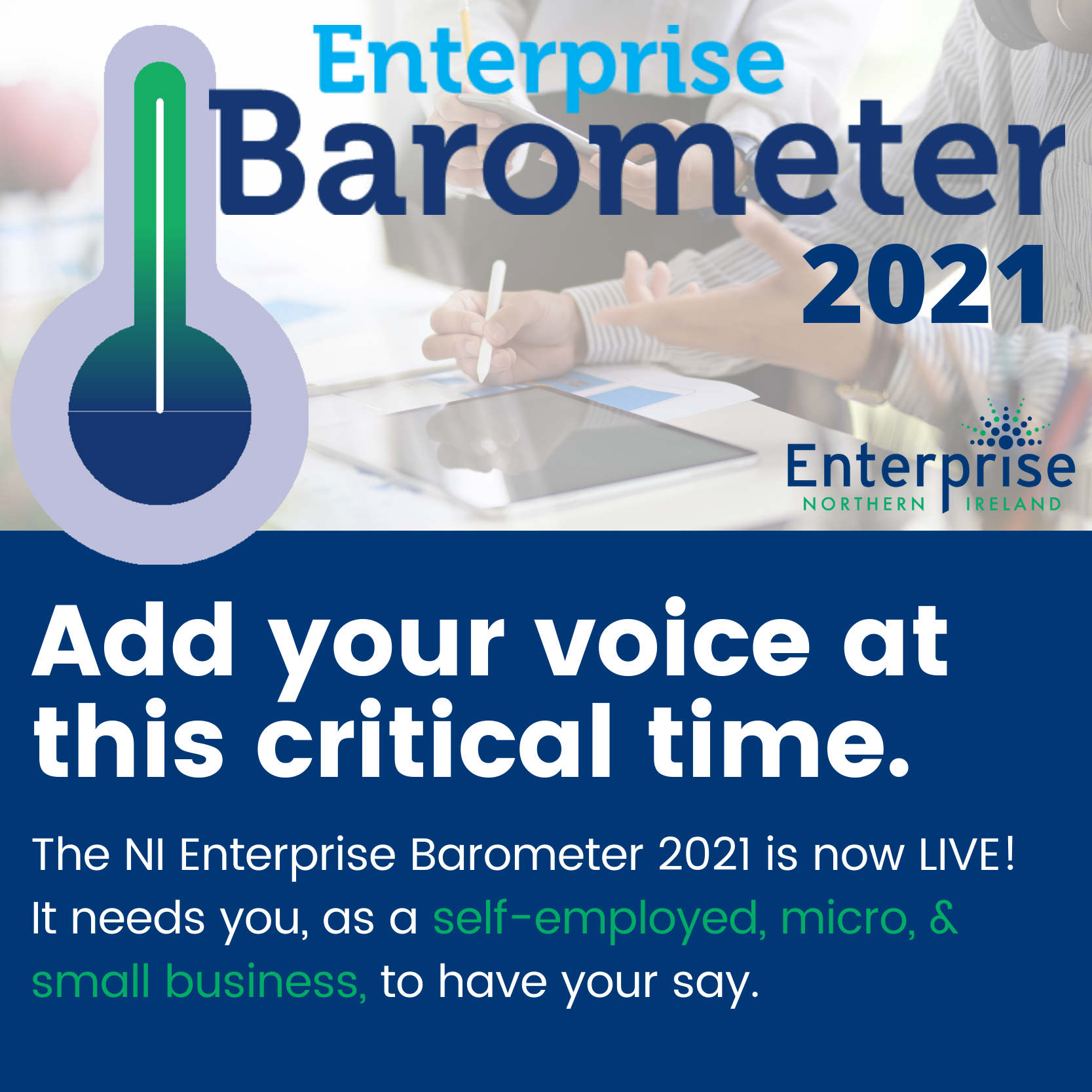 Link to 2021 NI Enterprise Barometer is now LIVE! post